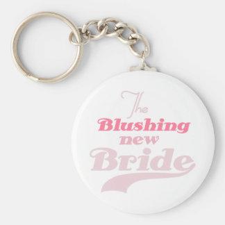 Blushing New Bride Keychain