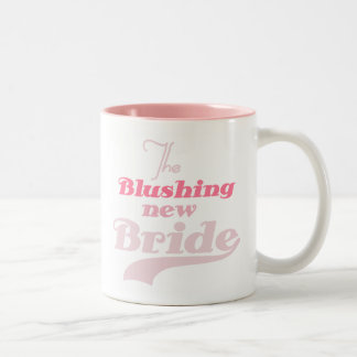 Blushing New Bride Two-Tone Coffee Mug