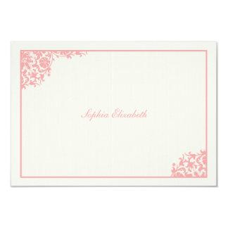 Blushing Pink Thank You Card