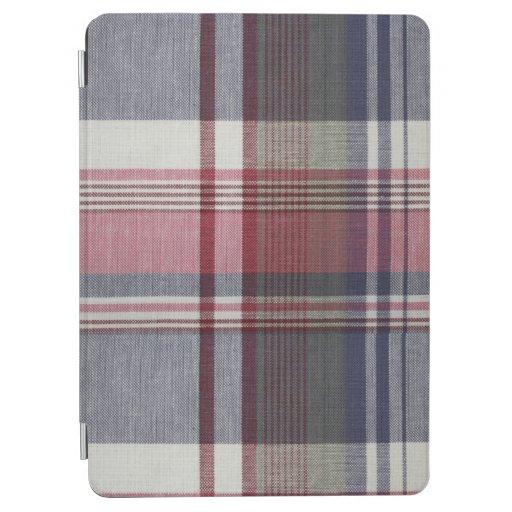Blushing Plaid iPad Air Cover