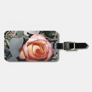 Blushing Rose Bag Tag