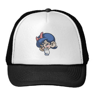 Blushy Mouse Trucker Hat