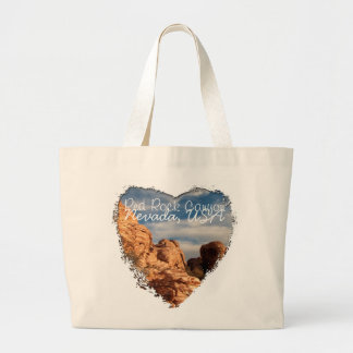 BLUSK Blue Sky Meets Red Rock Large Tote Bag