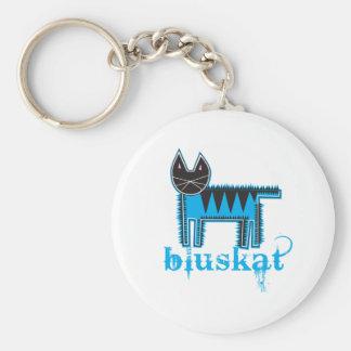 Bluskat Keychain