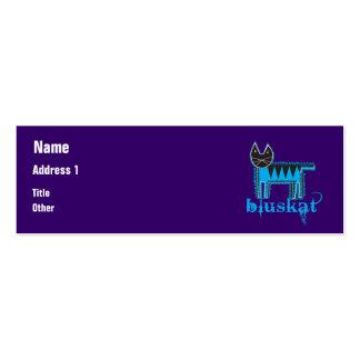 Bluskat Mini Business Card