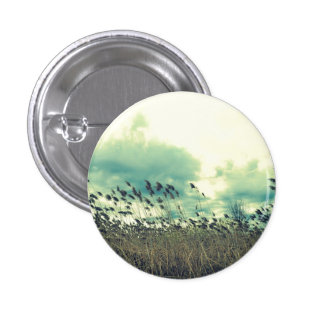 Blustering Field Pinback Button