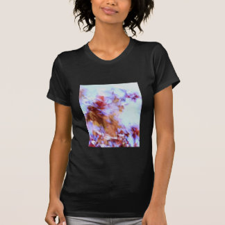 Blustery Autumn/Fall ladies petite t-shirt