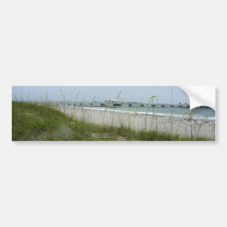 Blustery Day at the Beach Bumper Stickers
