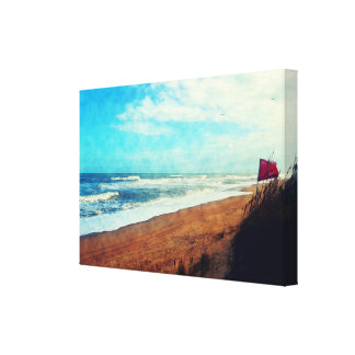 Blustery Day on the Outer Banks Canvas Print