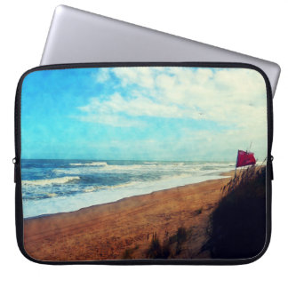 Blustery Day on the Outer Banks Laptop Sleeve