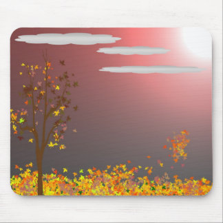 Blustery Fall Evening mousepad