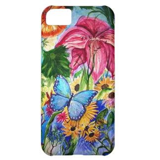 Blut Butterfly Garden Art Watercolor iPhone 5C Cover