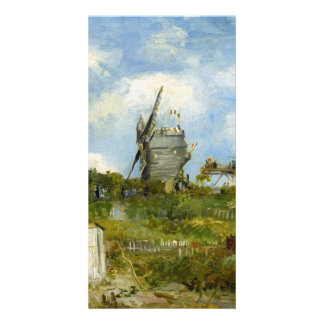 Blut Fin Windmill by Vincent van Gogh Photo Card Template