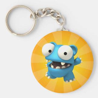 Bluto Basic Round Button Keychain