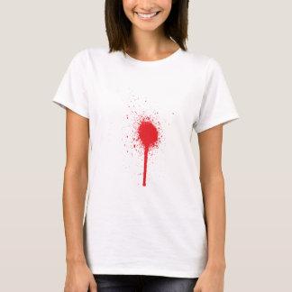 Blutspitzer blood more splatter T-Shirt