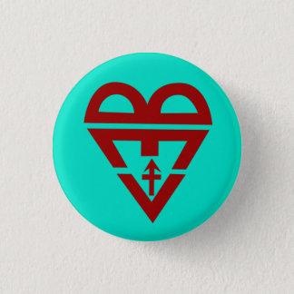 BLuv (Artemis blue) Button