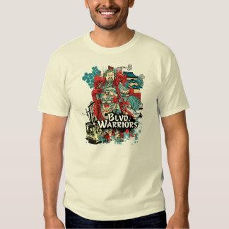 Blvd. Warriors Yin Yang Design - Cult Flavor Tee Shirt