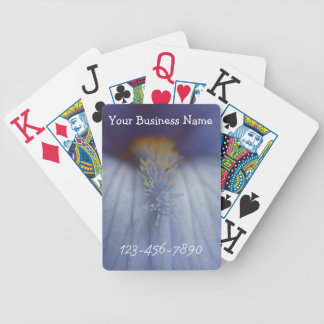 BLYE Blue and Yellow Iris Bicycle Playing Cards