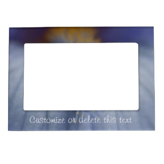 BLYE Blue and Yellow Iris Magnetic Frame