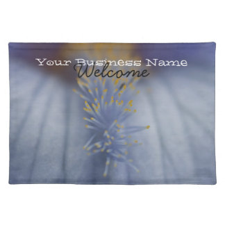 BLYE Blue and Yellow Iris Placemat