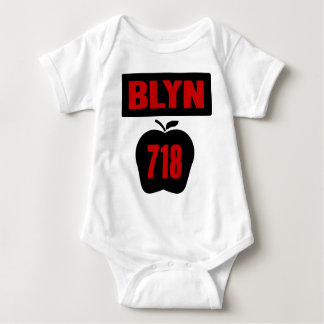 BLYN 718 Inside of Big Apple With Banner, 2 Color T Shirts