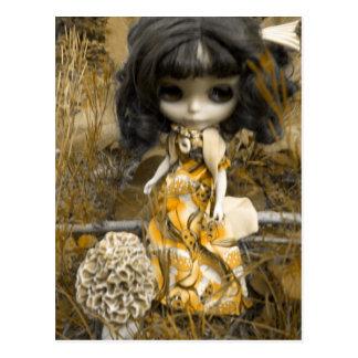 Blythe and the Mushroom Postcard