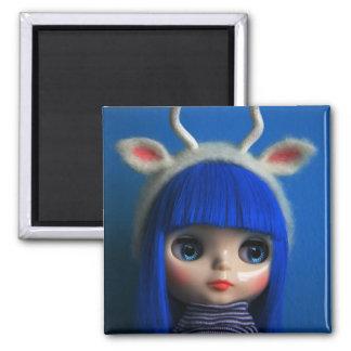 Blythe blue magnet