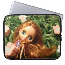 Blythe Doll Bonnie laptop friend Computer Sleeve