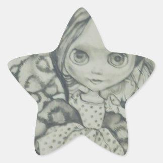 Blythe doll products star sticker
