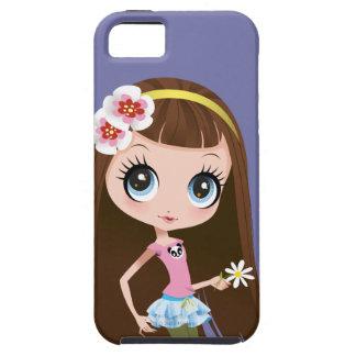 Blythe Holding Flower iPhone SE/5/5s Case