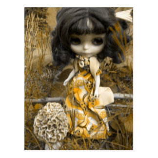 Blythe y la seta tarjetas postales