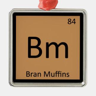 Bm - Bran Muffins Chemistry Periodic Table Symbol Ornaments
