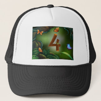 BM_Number_Set_14 Trucker Hat