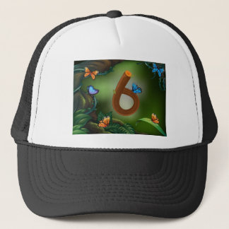 BM_Number_Set_16 Trucker Hat