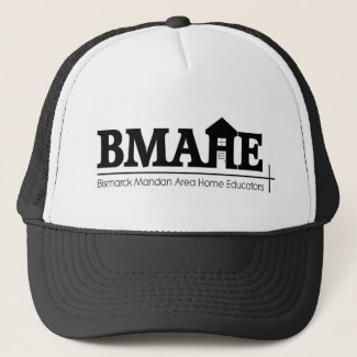 BMAHE logo bw (1) (2) Trucker Hat