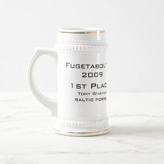 BMB, Fugetaboutit2009, 1st Place, Tony GIannasi... Beer Stein