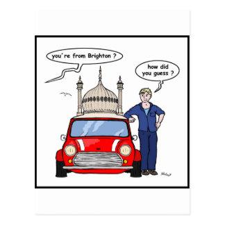 BMC cartoon Postcard