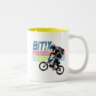 BMC Championships 1986 Worn look Two-Tone Coffee Mug