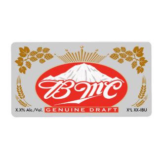BMC Genuine Draft Label