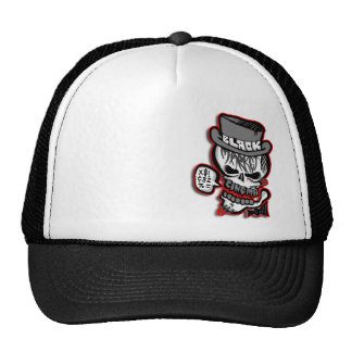 BMC grey Skull logo Trucker Hat