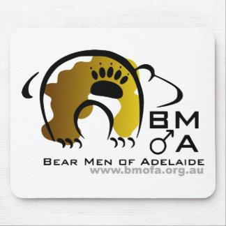 BMOFA logo Mouse Pad