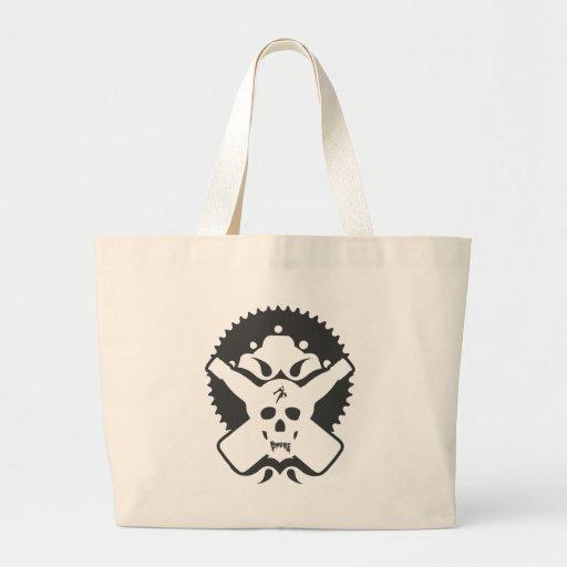 Bmore Skull B Canvas Bag