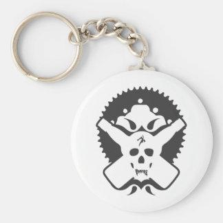 Bmore Skull B Key Chain