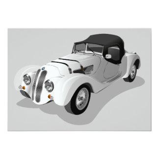 bmw-158703 bmw, car, roadster, sports car, automob 5x7 paper invitation card