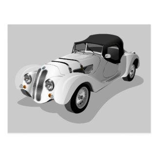 bmw-158703 bmw, car, roadster, sports car, automob postcard