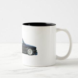 BMW Cabriolet E30 Two-Tone Coffee Mug