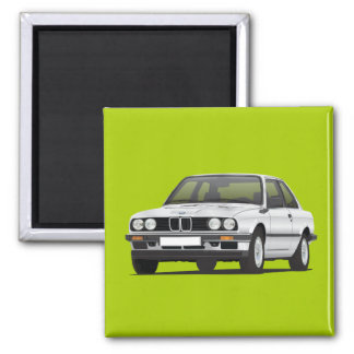 BMW E30 (3-serie) silver Magnet