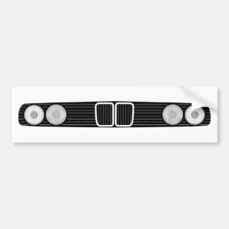 BMW E30 front Bumper Sticker