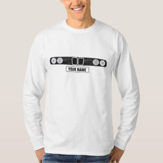 BMW E30 front with custom number plate T-Shirt