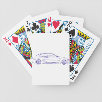 BMW E46 Classic Bicycle Playing Cards